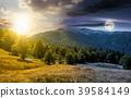 time change concept over the Apetska mountain 39584149