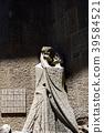 Statue of Jesus and Jewish Kiss outside the Sagrada Familia 39584521