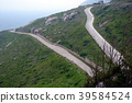 Curved road in Mazu's mountains 39584524