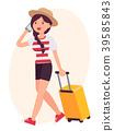 Cartoon character vector design female woman girl 39585843
