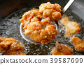 meat dish, chicken, deep-fried chicken 39587699