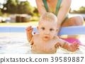 mother, baby, enjoying 39589887
