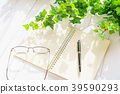 펜과 노트 39590293