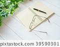 펜, 노트, 공책 39590301