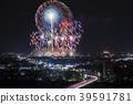 불꽃 놀이, 불꽃 놀이 대회, 야경 39591781