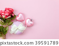Top view aerial of decoration Happy mothers day 39591789