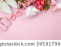 Top view of decoration Happy mothers day holiday 39591794
