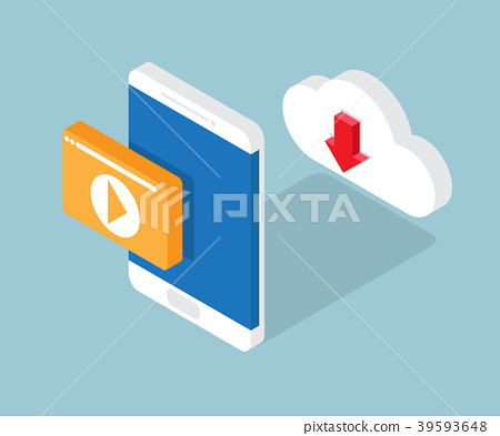 multimedia on cloud and play with smartphone 39593648