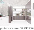 kitchen interior loft 39593954