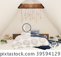 bedroom, interior, bed 39594129