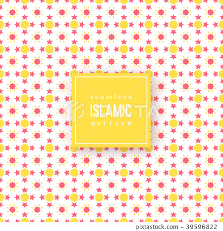 Seamless pattern in islamic traditional style. 39596822