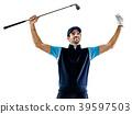 高尔夫 抠图 白底 39597503
