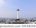 교토 도시 풍경 교토 타워 39598268