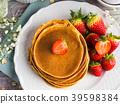 pancake, oatmeal, stack 39598384