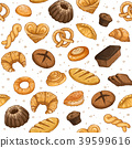 bakery seamless background 39599616