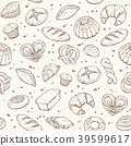 bakery seamless background 39599617