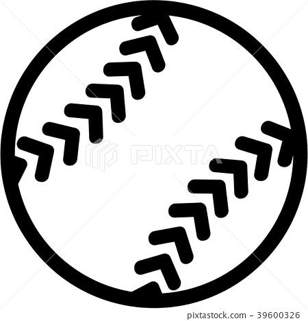 Softball icon 39600326