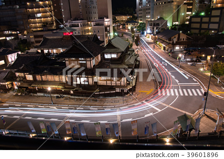 Night view of Ehime Dogo Onsen 39601896