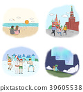 Vector - making a good memories for several landmarks around the world. 001 39605538