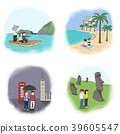 Vector - making a good memories for several landmarks around the world. 006 39605547