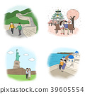 Vector - making a good memories for several landmarks around the world. 004 39605554
