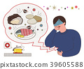 Disease prevention - Vector illustration about avoiding a disease 001 39605588