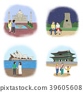 Vector - making a good memories for several landmarks around the world. 009 39605608