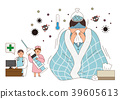 Disease prevention - Vector illustration about avoiding a disease 003 39605613