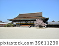 old imperial palace, kyoto imperial palace, shishinden 39611230