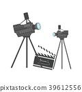 movie vector equipment 39612556