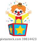 Clown Box Surprise 39614423