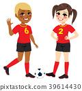 Soccer Teenager Girls 39614430
