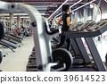 woman, gym, workout 39614523
