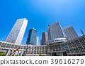 """""""โตเกียว"""" ย่านธุรกิจ Shinjuku Fukutoshin 39616279"""