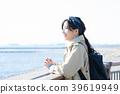 바다 여행 여성 39619949