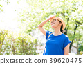 Summer lady outdoor portrait 39620475