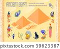 Egypt Isometric Poster 39623387
