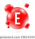 isolated, vitamin, icon 39624244