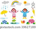 雨季 梅雨 下雨 39627189
