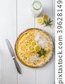 lemon, tart, dessert 39628149