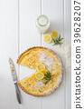 lemon, tart, pastry 39628207