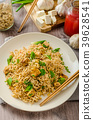 Chinese noodles with tofu and cashew nuts 39628541