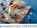 Domestic strawberry yogurt 39630208