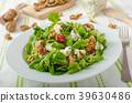 salad cheese blue 39630486