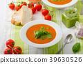 Tomato soup with gremolata 39630526