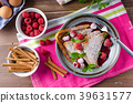 French toast with berries 39631577