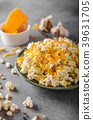 Homemade cheese popcorn 39631705