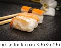 Sushi rolls nigiri 39636296