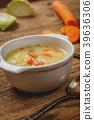 Hmemade vegetables soup 39636306