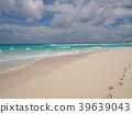 멕시코, 칸쿤의 해변 (돌핀 비치와 발자국) 39639043